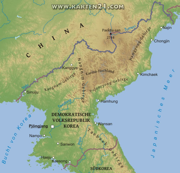 Reproduced from nordkorea.karten21.com